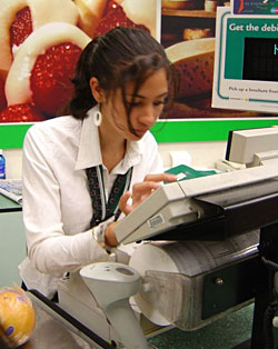 Sales Associate Duties - Cashier
